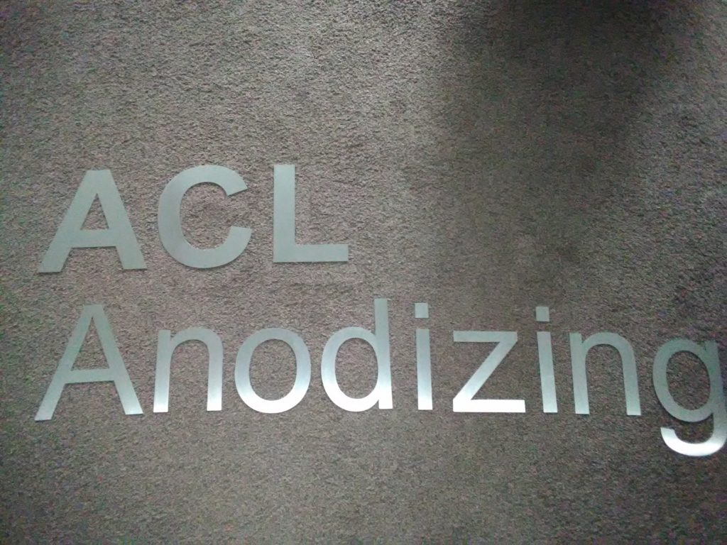 nerezovy napis ACL Anodizing Jablonec best-e-shop